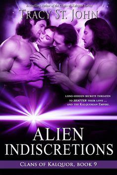Clans of Kalquor 9: Alien Indiscretions. Amazon, Smashwords, and All Romance eBooks bestseller