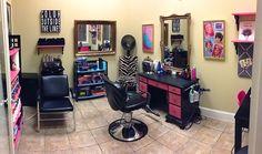 in home salon?