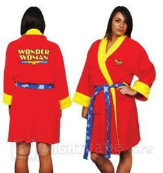Wonder Woman Deluxe Bath Robe. Mine arrived today!!
