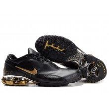 Nike Shox R4 2 Plating black gold