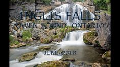 Inglis Falls results from the Sydenham River falling over the Niagara Escarpment, just southwest from the centre of Owen Sound, Ontario. The waterfall is wit. Waterfalls, Ontario, June, River, Grey, Pictures, Outdoor, Ash, Photos