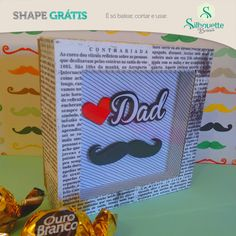 Grazi shape gratis Free studio cut files Dad box with shadow box lid Silhouette Cameo, Free Silhouette, Free Shapes, Free Studio, Box With Lid, Party Accessories, Shadow Box, Cricut, Dads