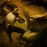 Werewolves art - Art of Fantasy by Patrick Reilly