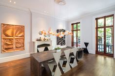 Old meets new in a modern apartment inside a former Victorian schoolA historic Queen Anne manse in upstate New York is for saleA charming 1930s Monterey Colonial home is on the marketStep inside an idyllic house on Long Island's East End