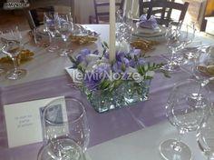 Centrotavola matrimonio con camomilla agrumi e spezie for Addobbi piscina per matrimonio