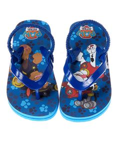 d57b830733faae Look at this PAW Patrol Flip-Flops - Toddler  amp  Boys on  zulily