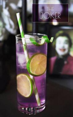 Batman themed drinks
