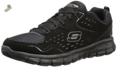 SKECHERS Women's Synergy - A Lister Black Sneaker 5 B (M) - Skechers sneakers for women (*Amazon Partner-Link)