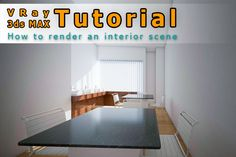 This is Kanak and I want to explain you here exclusively on tonytextures.com how you can easily set up a daylight interior scenery in 3ds ...