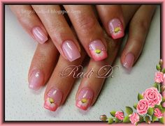 It`s all about nails: Peach Flowers http://radi-d.blogspot.com/2014/05/peach-flowers.html