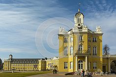 Karlsruhe Palace was erected in 1715 by Margrave Charles III William of Baden-Durlach, after a dispute with the citizens of his previous capital, Durlach. It is now home to the main museum of the Badisches Landesmuseum Karlsruhe.