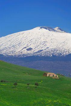 Mt. Etna - Sicily via | myfamouscastles.b... #etna