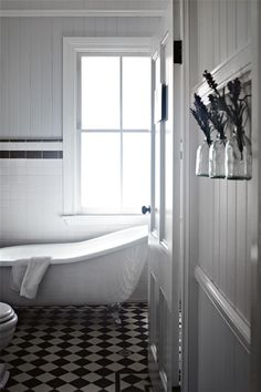 Small Queenslander Bathroom queenslander style bathroom .white shutters ,claw foot bath