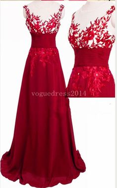 Hot sales burgundy lace chiffon champagne prom dresses,v neck open back long prom dress,cheap wine red prom dress ,formal women dress dresscomeon.store... #promdresses #burgundypromdress #promdresses #redlacepromdress