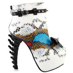 JJF Shoes D2 Fusions Candy-Colored Faux Suede Platform Pumps Stilettos High Heels-7