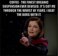 1000 images about janeway on pinterest star trek - We are the borg quote ...