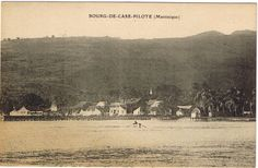 Bourg de Case-Pilote, Case-Pilote - Carte postale, Droits inconnus - Date inconnue