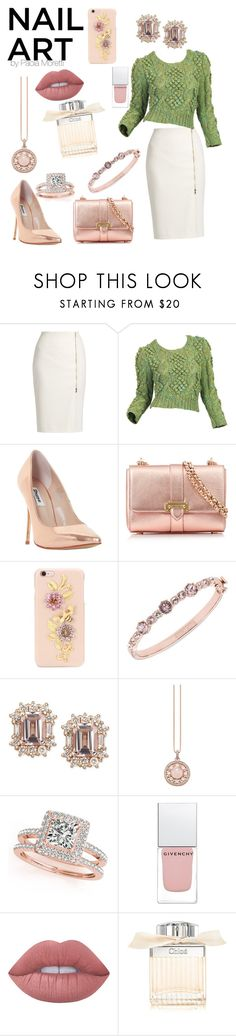"""""""Nail Art Style by Paola Moretti"""" by paola-moretti ❤ liked on Polyvore featuring beauty, MaxMara, Dune, Aspinal of London, Dolce&Gabbana, Givenchy, Thomas Sabo, Allurez, Lime Crime and Chloé"""