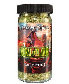 Penzey's  Mural Of Flavor  2.5oz glass jar. (salt free herb mix, essential for beans)