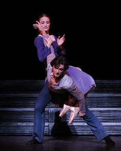 Julie Kent and Angel Corella in Christopher Wheeldon's VIII.