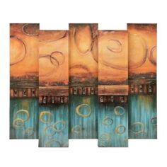 Cascading Canvas Art Print