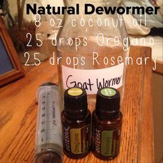 This natural de wormer has been amazing for our goats!!! But it will also work for horses, sheep, cattle, dogs, cats, chickens, you name it!!! Worming our animals is safer, cheaper, and more effective now since the worms can't build up a resistance to the essential oils. Has anyone tried this?