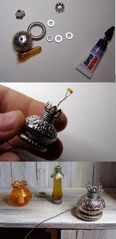DIY, Lámparas, Lamps