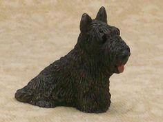 STONE CRITTERS LITTLES Scottish terrier SCOTTIE DOG FIGURINE HTF! picclick.com