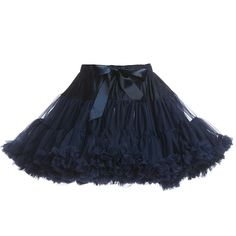 f275a78341 Angel's Face Navy Blue Chiffon Frilled Tutu Skirt at Childrensalon.com  Emerald Blue, Frill