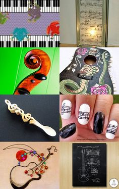 Musical Art by Carol Beck on Etsy--Pinned with TreasuryPin.com
