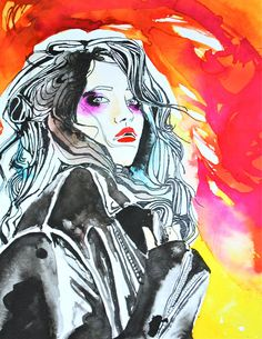 fashion illustration editorial - Google Search