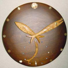 Clock: fish hands