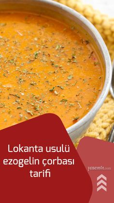 Soup Recipes, Recipies, Cooking Recipes, Turkish Recipes, Ethnic Recipes, Good Food, Yummy Food, Turkish Delight, Food For A Crowd