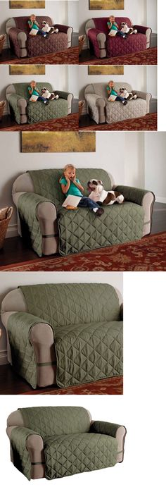 Slipcovers 175754: Ultimate Furniture Protector Pet Slip Cover Sofa Loveseat Xl Microfiber 5 Colors -> BUY IT NOW ONLY: $34.97 on eBay!