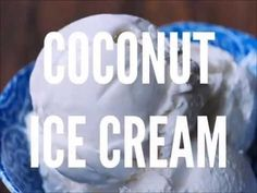 A creamy and dairy-free homemade coconut ice cream recipe you can customize for unlimited flavor options, and no ice cream maker required!
