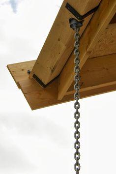 kjetting nedløp fra takrenne