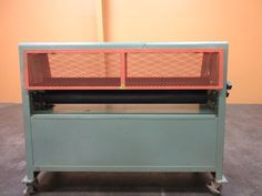 """Used Evans Pinch Roller - Model 256 - $4,650.00. This used pinch roller, manufactured by Evans Machinery, has a 62"""" Width capacity. Used Woodworking Machinery, Lean Manufacturing, Evans, Model, Scale Model, Models, Template, Pattern"""