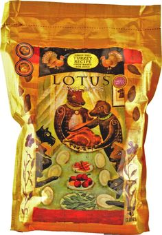 Lotus Dog Food - Grain Free Small Bites Turkey Recipe