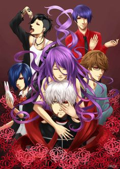 Inside Me. by Tokyo Ghoul Anime Nerd, Anime Manga, My Little Pony, Tokyo Ghoul Pictures, Good Anime To Watch, Ken Tokyo Ghoul, Anime Group, Another Anime, Shinigami