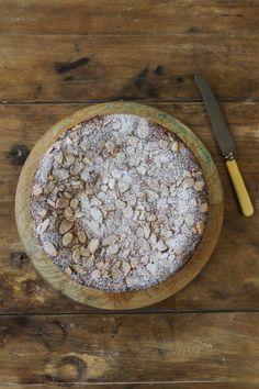 Flourless Lemon Ricotta Cake - Liliana Battle