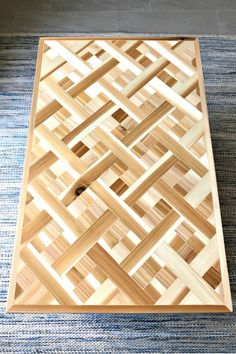 How To Have An Easy Woodworking Project When it comes to woodworking, there is a vast world to learn about. From types of wood to which tools are best, you will find that there is no end to your education. Wood Mosaic, Mosaic Wall Art, Scrap Wood Projects, Easy Woodworking Projects, Mosaic Projects, Woodworking Plans, Diy Furniture Plans, Wood Furniture, Furniture Makeover