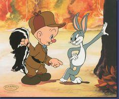 Bugs Bunny and Elmer Fudd