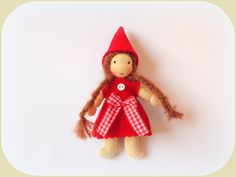 Künstlerpuppen - Wandel- Wichtel Mädchen Jahreszeitentisch - ein Designerstück von susannelfe bei DaWanda