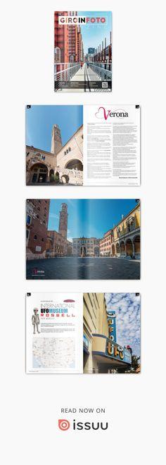 Giroinfoto magazine 42  GIROINFOTO.COM La rivista dei fotonauti Viaggiare e fotografare due passioni, un'unica esperienza. Verona, Ufo, Desktop Screenshot, Magazine, Statue, Reading, Rook, Fotografia, Magazines