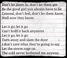 Let It Go ~ Frozen || My girls are obsessed with this movie!