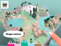 Toca Nature – aplicația recomandată de către compania Apple pentru iPhone și iPad