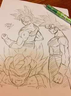 Dessin : Baddack Super Saiyajin -どらまに(旧:ドラゴンマニア) Twitter