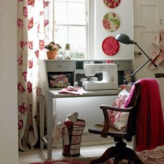 sewing room  :)