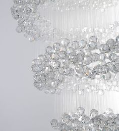 Eva menz design chandelier galaxy crystal perspex translucent eva menz design chandelier invisible crystal perspex nylon enchanting minimal sparkling aloadofball Choice Image