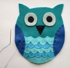 Several patterns to do Owl with different materials - and many other DIY projecst of Artesanato